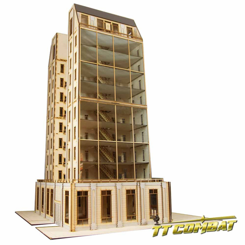 Tt combat galaxy building macattack001 for Apartment building maker